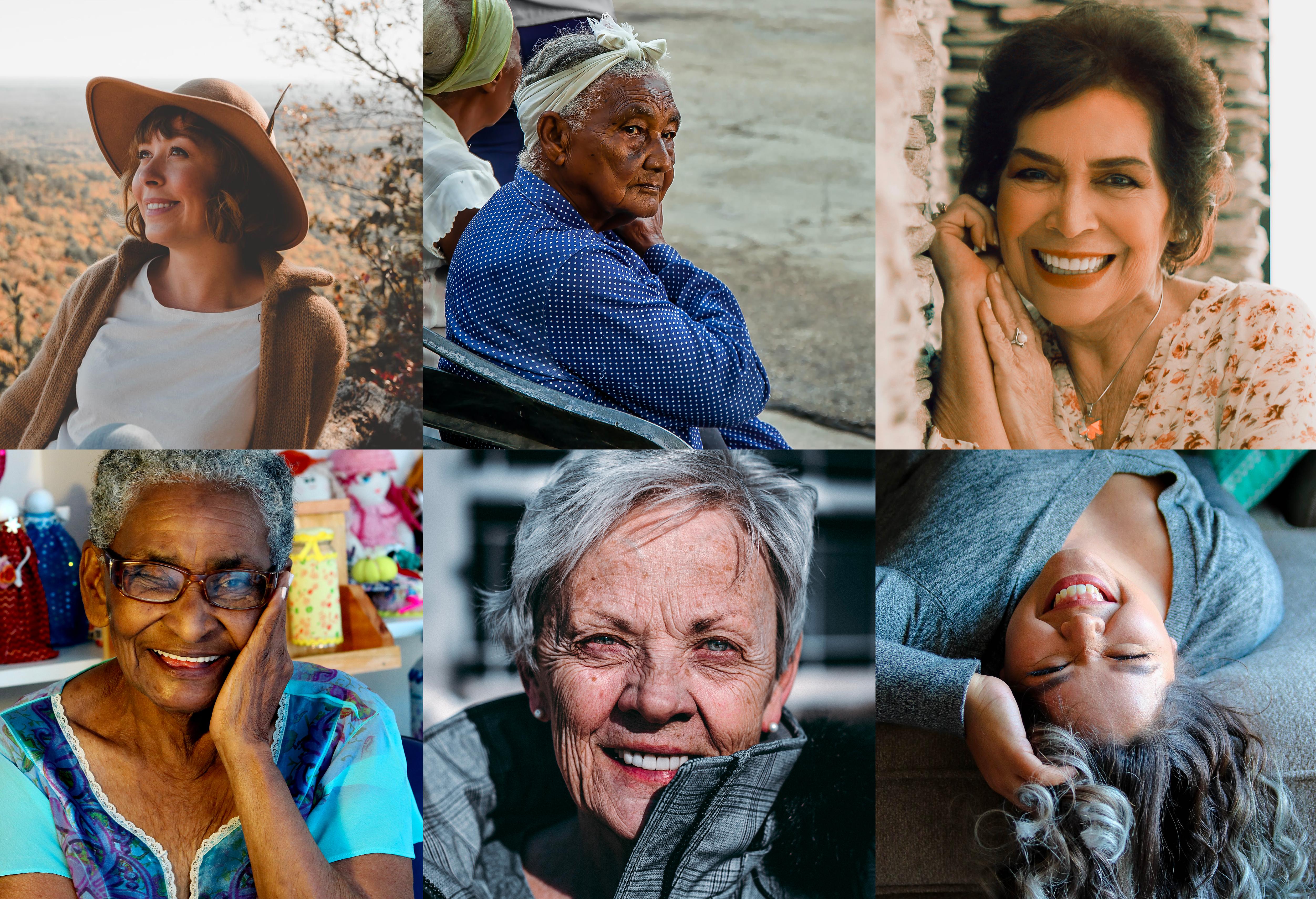 image de femmes de plus de 50 ans pour illustrer la ménopause